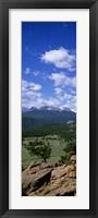 Framed Rocky Mt National Park, CO