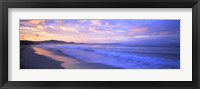 Framed Costa Rica Beach at Sunrise