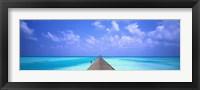 Framed Holiday Island, Maldives