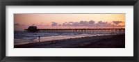 Framed Newport Pier, Orange County, California