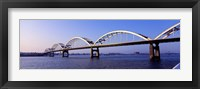 Framed Centennial Bridge, Iowa, Illinois