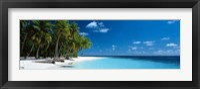 Framed Beach Maldives