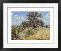 Framed Summer Farm