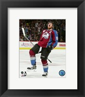 Framed Gabriel Landeskog 2015-16 Action