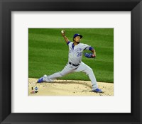 Framed Edinson Volquez Game 5 of the 2015 World Series