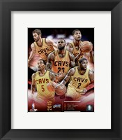 Framed Cleveland Cavaliers 2015-16 Team Composite