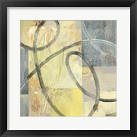 Ribbon Dance I Framed Print