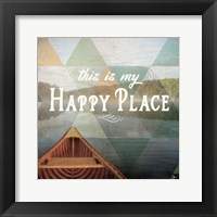 Calm Waters I Framed Print