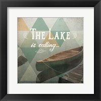Calm Waters II Framed Print