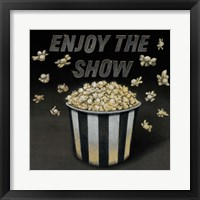 Enjoy the Show Framed Print