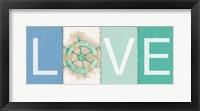New Horizons Love Framed Print
