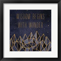 Written in the Stars I Framed Print