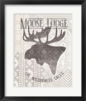 Soft Lodge V Framed Print