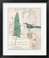 En Bleu II Framed Print