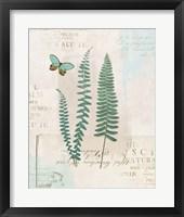 En Bleu VII Framed Print