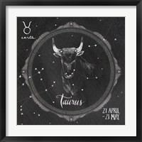 Framed Night Sky Taurus