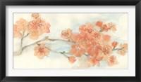 Framed Peach Blossom I