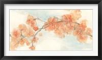 Framed Peach Blossom II