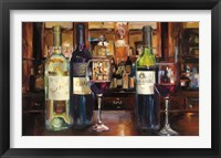 Framed Reflection of Wine