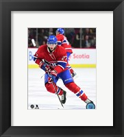 Framed Alex Galchenyuk 2015-16 Action