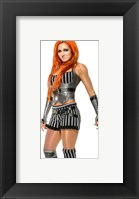 Framed Becky Lynch 2015 Posed