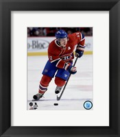 Framed Brendan Gallagher 2015-16 Action