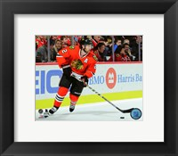 Framed Duncan Keith 2015-16 Action