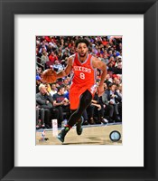 Framed Jahlil Okafor 2015-16 Action