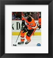 Framed Jakub Voracek 2015-16 Action