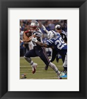 Framed Julian Edelman 2015 Action