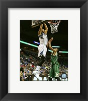 Framed Karl-Anthony Towns 2015-16 Action