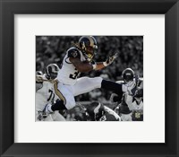 Framed Todd Gurley 2015 Spotlight Action
