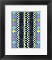 Vintage Stripe II Framed Print