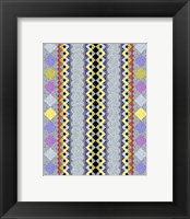 Vintage Stripe III Framed Print