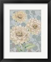 Trois Fleurs III Framed Print