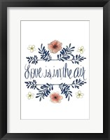 Flowers by Grace I Framed Print
