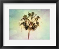 Framed Palm Trees III