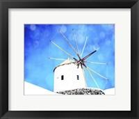 Santorini II Framed Print