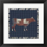 Fourth on the Farm Collection G. Framed Print