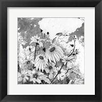 Framed Iza's Garden I