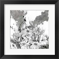 Framed Iza's Garden II