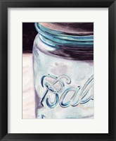 Framed Mason Jar II