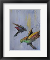 Bright Wings II Framed Print