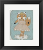 Ballerina Animal I Framed Print