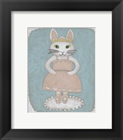 Ballerina Animal II Framed Print