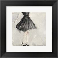 Little Black Dress I Framed Print