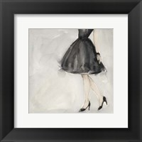 Little Black Dress II Framed Print