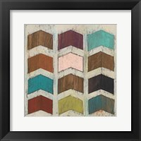 Chevron Matrix II Framed Print