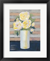 Wednesday Blooms I Framed Print