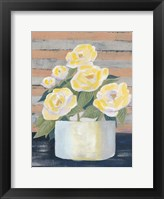 Wednesday Blooms II Framed Print